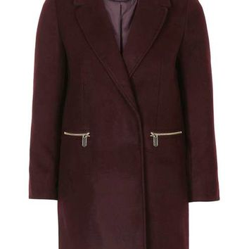 Slim Fit Boyfriend Coat - Jackets & Coats - Clothing
