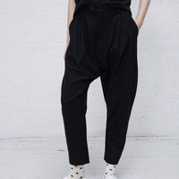 Totokaelo - Henrik Vibskov Dark Marine Bloom Pants - $390.00