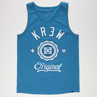 Kr3w U Mens Tank Blue  In Sizes