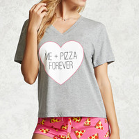 Me + Pizza Forever PJ Set