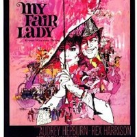 My Fair Lady Movie Poster (27 x 40 Inches - 69cm x 102cm) (1964) -(Audrey Hepburn)(Rex Harrison)(Stanley Holloway)(Wilfrid Hyde-White)(Theodore Bikel)(Mona Washbourne)