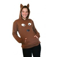 Dondon Doggy Face & Tail Hoody