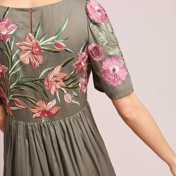 Aika Embroidered Dress