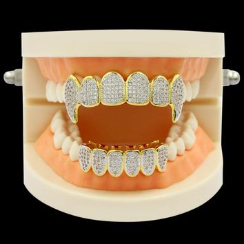 Micro Pave Diamond Grillz