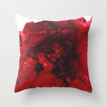 Muladhara (root chakra) Throw Pillow by duckyb