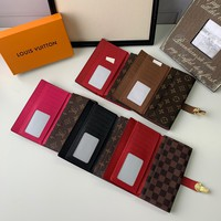 2020 New Arrivals LV Louis Vuitton Monogram Giant Micro Pochette Accessories lattice zippy wallet purse bucket coin   card make up bags pouches handbag Best quality