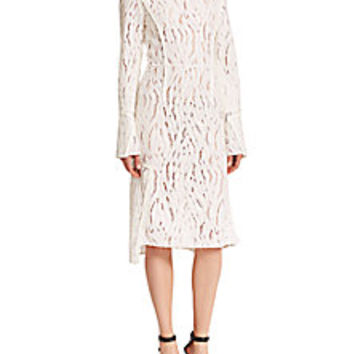 3.1 Phillip Lim - Seamed Lace Dress - Saks Fifth Avenue Mobile