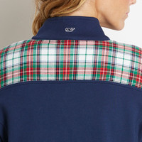 Mistletoe Plaid Shep Shirt