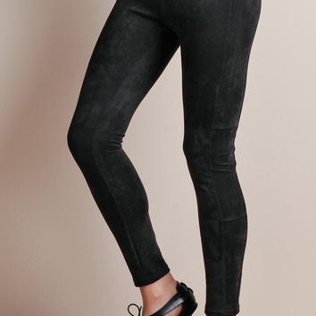Ultra Suede Leggings By Chaser