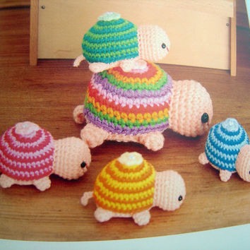 Free Printable Amigurumi Animal Patterns : FREE SHIPPING Out-of-print Animal Amigurumi Crochet ...
