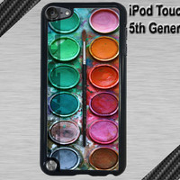 New iPod Touch 5 Case  Watercolor Set  iPod by CrazianDesigns