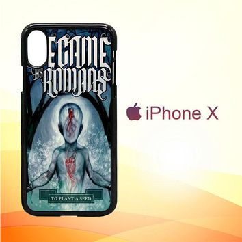 We Came As Romans cover Z1387 iPhone X Case