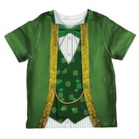St Patrick's Day Leprechaun Costume All Over Toddler T Shirt