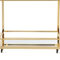 Winslow Bar Cart | Luxe Dining1 | Dining Room | Inspiration | Z Gallerie