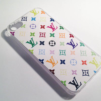 Louis Vuitton iPhone 4/4S Case - Rainbow Logo