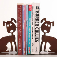 Darling Doggie Bookends for Dog Lovers
