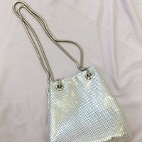 Star Power Silver Mesh Purse