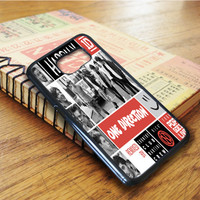 One Direction Best Song Ever Art Collage Samsung Galaxy S6 Edge Case