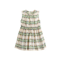 crewcuts Baby Dress In Floral Bands