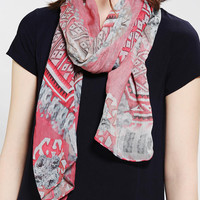 Urban Outfitters - Paisley Rose Scarf