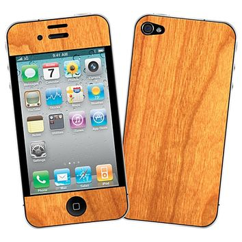Flat Cut Cherry Skin for the iPhone 4/4S by skinzy.com