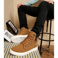 Men Casual Shoes Canvas Botas Comfortable  Sneakers [8822148163]