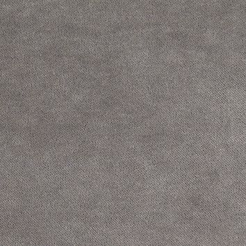 Scalamandre Fabric K65110-004 Aurora Velvet Grey Flannel