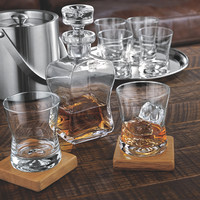 Tribeca Whiskey Decanter and Glasses Set