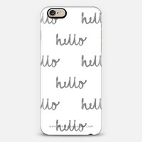 Hello iPhone 6 case by Rachel Green | Casetify