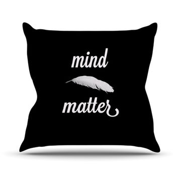 "Skye Zambrana ""Mind Over Matter"" Throw Pillow"