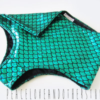 Green Mermaid High Waisted Bikini