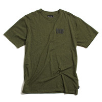 Blur Performance T-Shirt Speckle Olive