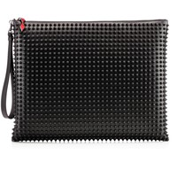Peter Pouch Black Leather