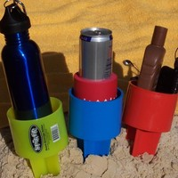 SPIKER 6-Pack Beach Holder