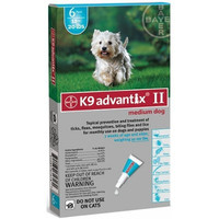 K9 Advantix Flea and Tick Control For Dogs - 4 Month Supply