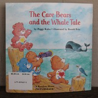 Care Bears and the Whale Tale Book Vintage