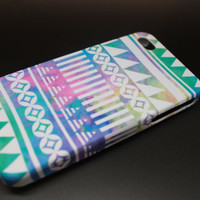 Pastel Tribal Print iPhone 4/4S and iPhone 5 by jackandhazelstore