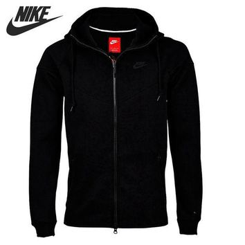 CREYU3C Original New Arrival 2016 NIKE TECH FLEECE WINDRUNNER Men's Jacket Hooded Sportswear