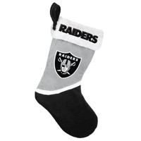 Oakland Raiders NFL Official 2015 Holiday Stocking