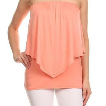 Double Layered Tube Top