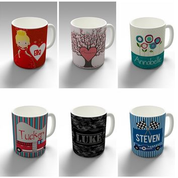 HOLIDAY STEALS! FREE Personalized Mug With Every Purchase!