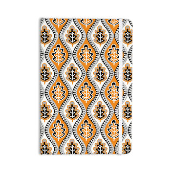 "Jacqueline Milton ""Oak Leaf - Orange"" Floral Orange Everything Notebook"