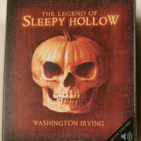 The Legend of Sleepy Hollow Sound Washington Irving Figurine Book Mini Kit Lot 2