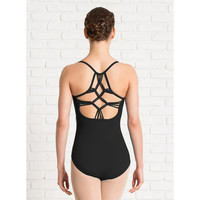 Diamond Knot Back Camisole Leotard