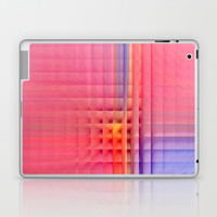 Pink Mosaic Laptop & iPad Skin by Christine baessler