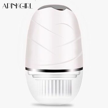 Electric Facial Cleansing Brush Deep Clean Blackheads Removal USB Rechargeable