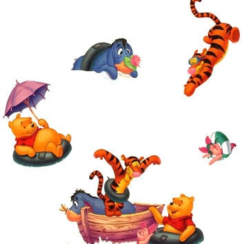 Winnie Pooh Foam Stickers Storybook 3D Wall Decals
