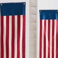 Americana Long Stripe Banner