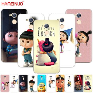 HAMEINUO My Unicorn Agnes Minions Cover phone Case for Huawei Honor 10 V10 4A 5A 6A 7A 6C 6X 7X 8 9 LITE