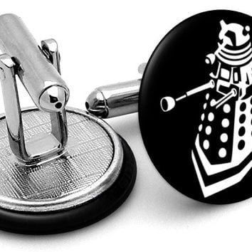 Dr Who Dalek Cufflinks
